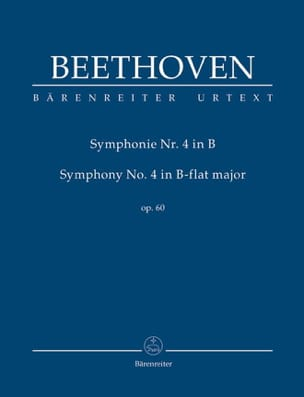 BEETHOVEN - Symphony No. 4 In Bb Shift. op.60 - Sheet Music - di-arezzo.com