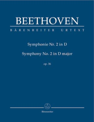 BEETHOVEN - Symphony No. 2 in D Maj. Op. 36 - Sheet Music - di-arezzo.co.uk