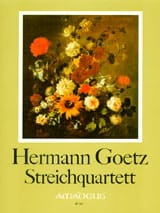 Hermann Goetz - Streichquartett B-Dur - Stimmen Partitur Faksim - Sheet Music - di-arezzo.com
