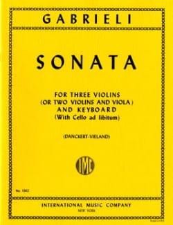 Sonata –3 Violins (or 2 Vl Va) piano - laflutedepan.com