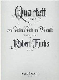 Streichquartett a-moll op. 62 -Stimmen Robert Fuchs laflutedepan