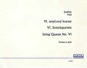 Jindrich Feld - Streichquartett Nr. 6 –Partitur + Stimmen - Partition - di-arezzo.fr