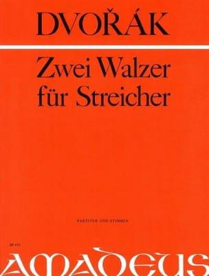 DVORAK - 2 Walzer für Streicher - Partitur Stimmen - Sheet Music - di-arezzo.co.uk