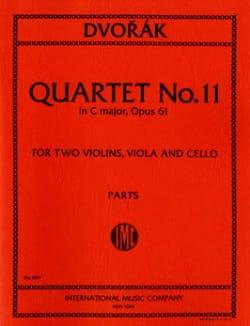 Quatuor à cordes n° 4 do maj. op. 61 -Parties DVORAK laflutedepan