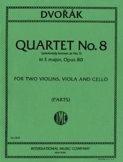 Quatuor A Cordes N° 5 Mi Majeur Op. 80 -parties - laflutedepan.com