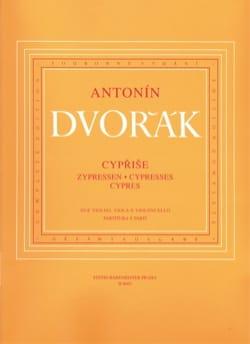 DVORAK - Cypresses - Instrumental parts - Sheet Music - di-arezzo.co.uk