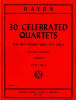 HAYDN - 30 Famous Quartets Vol.2 - Sheet Music - di-arezzo.co.uk