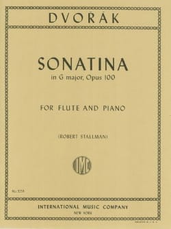 DVORAK - Sonatina in G major op. 100 - Flute piano - Sheet Music - di-arezzo.co.uk