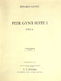 Edvard Grieg - Peer Gynt Suite 1 Opus 46 - Complete material - Sheet Music - di-arezzo.co.uk
