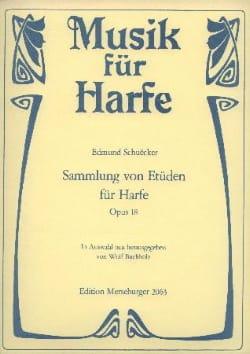 Edmund Schuëcker - Sammlung von Etüden für Harpe op.18 - Partition - di-arezzo.fr