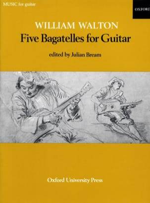 William Walton - 5 Bagatelles for Guitar - Sheet Music - di-arezzo.co.uk