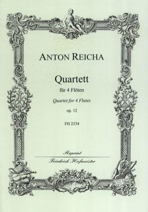 Quartett op. 12 - 4 Flöten Anton Reicha Partition laflutedepan