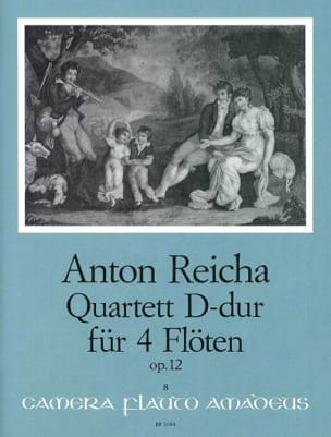 Anton Reicha - Quartett D-Dur op. 12 - 4 Flöten - Sheet Music - di-arezzo.co.uk