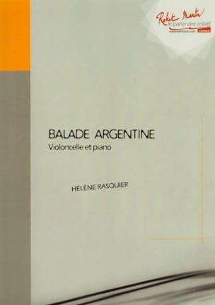 Hélène Rasquier - Balade argentine - Partition - di-arezzo.fr