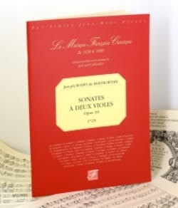 BOISMORTIER - Sonatas with two viols op. 10 - 1725 - Sheet Music - di-arezzo.com