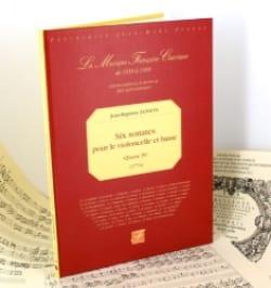 Jean-Baptiste Janson - Six Sonates pour le violoncelle et basse - Oeuvre IVe - Partition - di-arezzo.fr