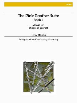 The Pink Panther Suite Book 2 - Flute choir MANCINI laflutedepan