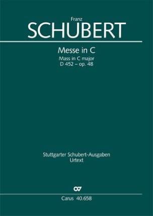 Messe in C-Dur D. 452 - op. 48 – Partitur - laflutedepan.com