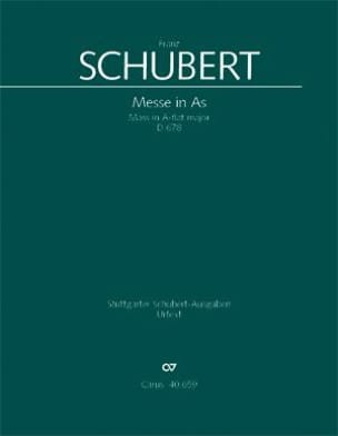 SCHUBERT - Messe in As-Dur D. 678 - Partitur - Partition - di-arezzo.fr