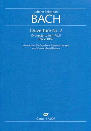 Ouverture N° 2 Orchestersuite BWV 1067 - Flöte Klavier laflutedepan