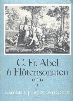 Carl Friedrich Abel - 6 Sonaten op. 6 - Bd. 1 - Flöte u. Bc - Partition - di-arezzo.fr