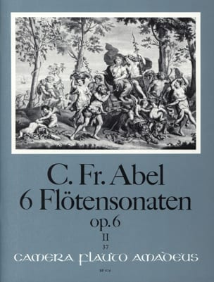 6 Sonaten op. 6 - Bd. 2 – Flöte u. Bc - laflutedepan.com