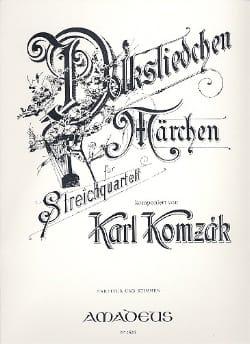 Karl Komzak - Volksliedchen und Marchen op.135 – Partitur + Stimmen - Partition - di-arezzo.fr