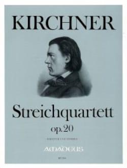 Theodor Kirchner - Streichquartett op. 20 - Partitur Stimmen - Sheet Music - di-arezzo.co.uk