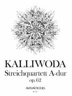 Johannes Wenzeslaus Kalliwoda - Streichquartett A -Dur op. 62 - Stimmen - Sheet Music - di-arezzo.com