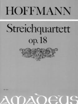 Ludwig Hoffmann - Streichquartett p.18 - Stimmen - Sheet Music - di-arezzo.com