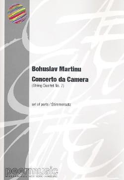 Bohuslav Martinu - Concerto da Camera - Parts - Sheet Music - di-arezzo.com