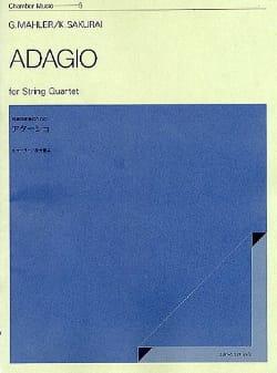 Gustav Mahler - Adagio –String quartet - Score + Parts - Partition - di-arezzo.fr