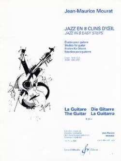 Jazz en 8 clins d'oeil Jean-Maurice Mourat Partition laflutedepan