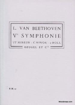 Symphonie N° 5 ut mineur op. 67 - Conducteur - laflutedepan.com