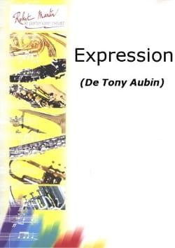 5 Pièces : Expression - Flûte piano Tony Aubin Partition laflutedepan