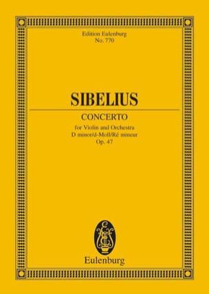 Violin-Konzert d-moll op. 47 - Partitur SIBELIUS laflutedepan