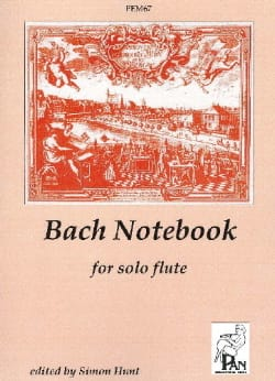 BACH - Bach Notebook - Solo flute - Sheet Music - di-arezzo.co.uk