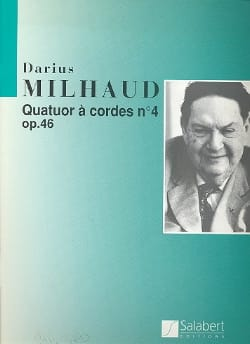Quatuor à cordes n° 4 op. 46 – Conducteur + Parties - laflutedepan.com