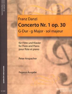 Concerto n° 1 op. 30 – Flöte Klavier - Franz Danzi - laflutedepan.com