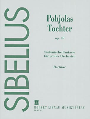 Jean Sibelius - Tochter Pohjolas op. 49 - Sheet Music - di-arezzo.co.uk