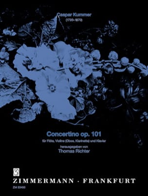 Gaspard Kummer - Concertino op. 101 - Partition - di-arezzo.fr