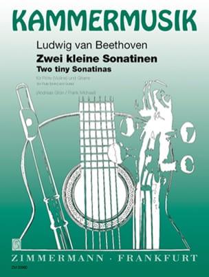 2 Kleine Sonatinen –Flöte (Violine) Gitarre - laflutedepan.com