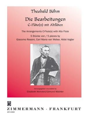Theobald Boehm - 5 Stücke - Flöte Altflöte Klavier - Sheet Music - di-arezzo.co.uk