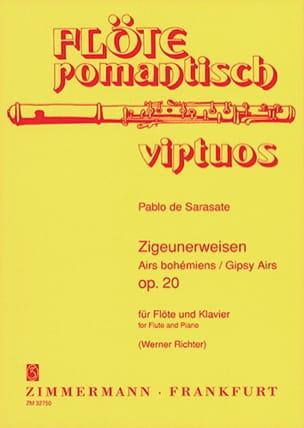 Pablo de Sarasate - Airs Bohémiens Op. 20 - Partition - di-arezzo.fr