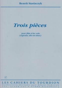 Benoit Stasiaczyk - 3 pièces - Partition - di-arezzo.fr