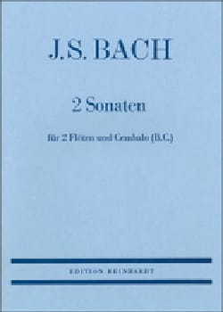 BACH - 2 Sonaten - 2 Flöten Cembalo Bc - Partition - di-arezzo.fr