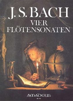 BACH - 4 Flötensonaten BWV 1030, 1032, 1034 et 1035. - Partition - di-arezzo.fr