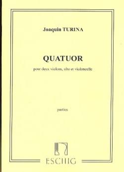 Joaquin Turina - Quatuor à cordes - Partition - di-arezzo.fr