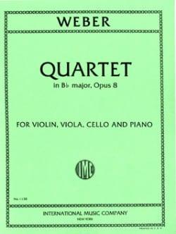 Quartet in Bb major op. 8 -Parts - laflutedepan.com