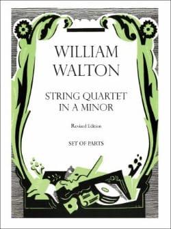String quartet in A minor - Parts William Walton laflutedepan